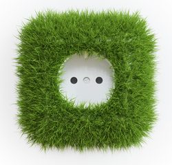 grøn-stikkontakt